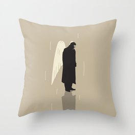 Der Himmel uber Berlin Throw Pillow