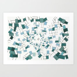 At The Bottom Of The Ocean Art Print