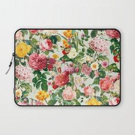 Floral A Laptop Sleeve