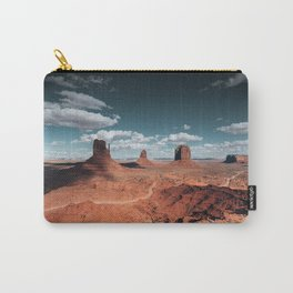 monument valley landscape Carry-All Pouch