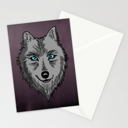 Wolf Spirit Animal Stationery Cards