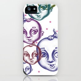 Bubbling Cupies iPhone Case