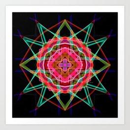 Mandala 3049A Art Print