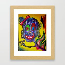 Monster Fairy Framed Art Print