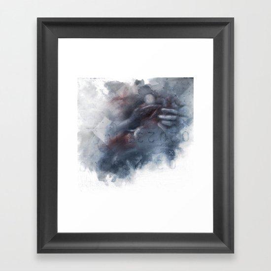 a permanent solution Framed Art Print