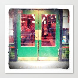 Central Saloon Doors, Pioneer Square - Seattle WA Canvas Print