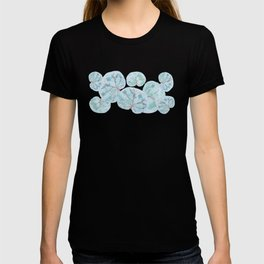 Tropical Sea Grape Leaves T-shirt