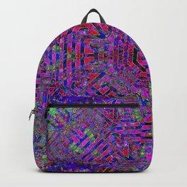 Purple Gateway To Peace Backpack
