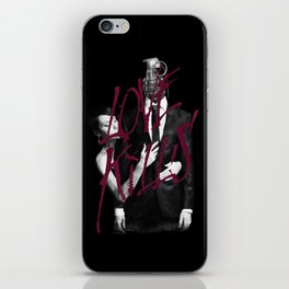 Love Kills iPhone Skin