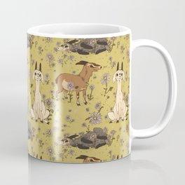 Summer Goat Pattern Coffee Mug