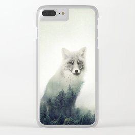 Fox, Forest Animal, Woodlands, Wilderness Clear iPhone Case