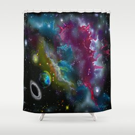 Earthbound Shower Curtain
