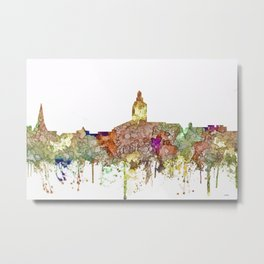 Annapolis, Maryland Skyline  - Faded Glory Metal Print