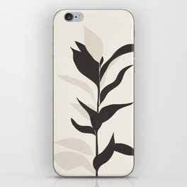 Abstract Minimal Plant iPhone Skin