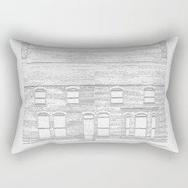 Fernville, Glasnevin, Dublin 1875 Rectangular Pillow