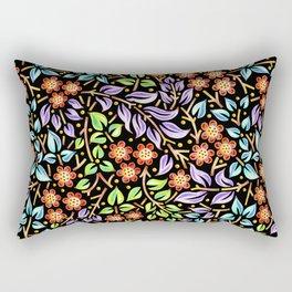 Filigree Floral smaller scale Rectangular Pillow
