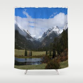 A Beautiful View Shower Curtain