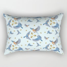 The Birds and the Bees Rectangular Pillow