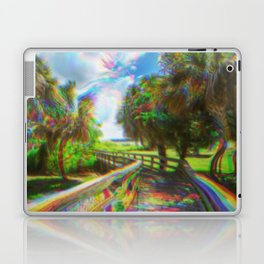 Trippy Walkway Laptop & iPad Skin