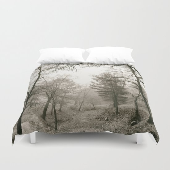"""Forest arms"". Into the woods Duvet Cover"