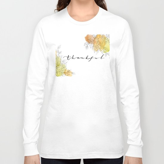 THANKFUL LEAFS Long Sleeve T-shirt
