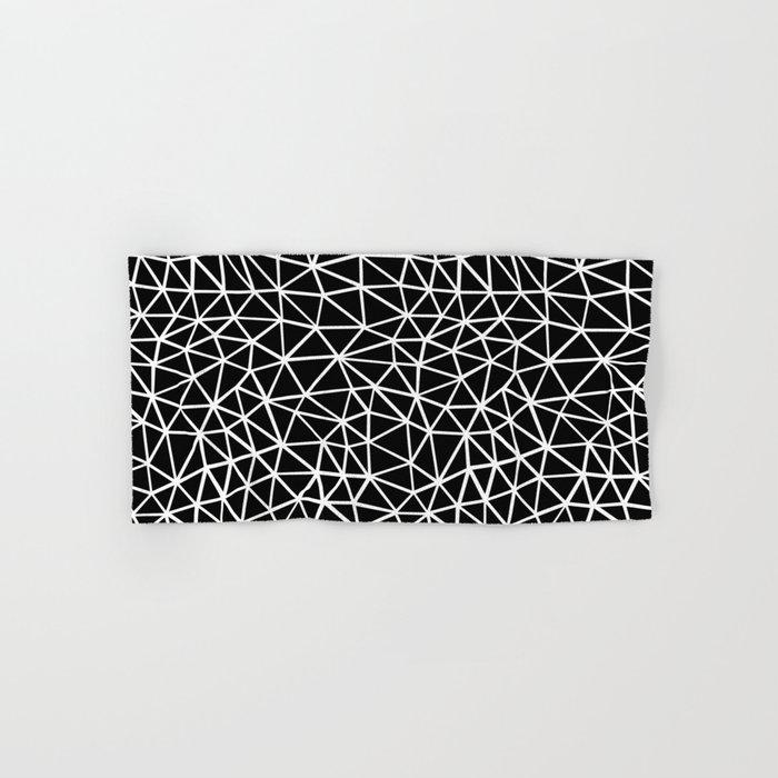 Seg R Black Hand & Bath Towel