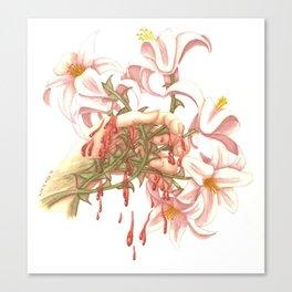 SWEET BELLE Canvas Print