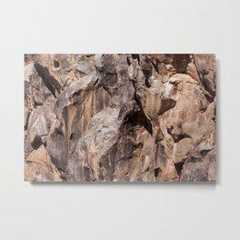 Kick Rocks (Fossil Falls, CA) Metal Print