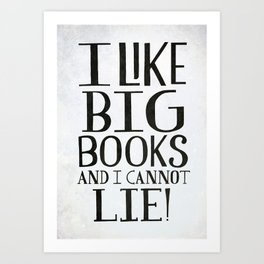 Big Books Art Print