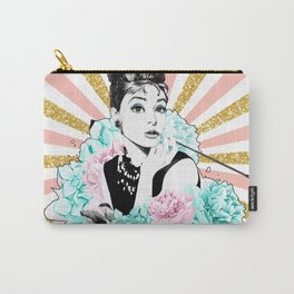 Iconic Audrey Hepburn Carry-All Pouch