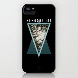 Nemophilist 001 iPhone Case