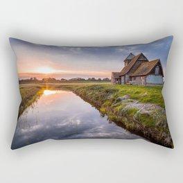 Peace At Twilight Rectangular Pillow