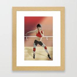 Keith on the Dancefloor Framed Art Print