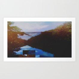 Little River Art Print