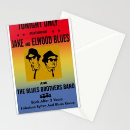 Mission From God Blues Brothers Stationery Cards
