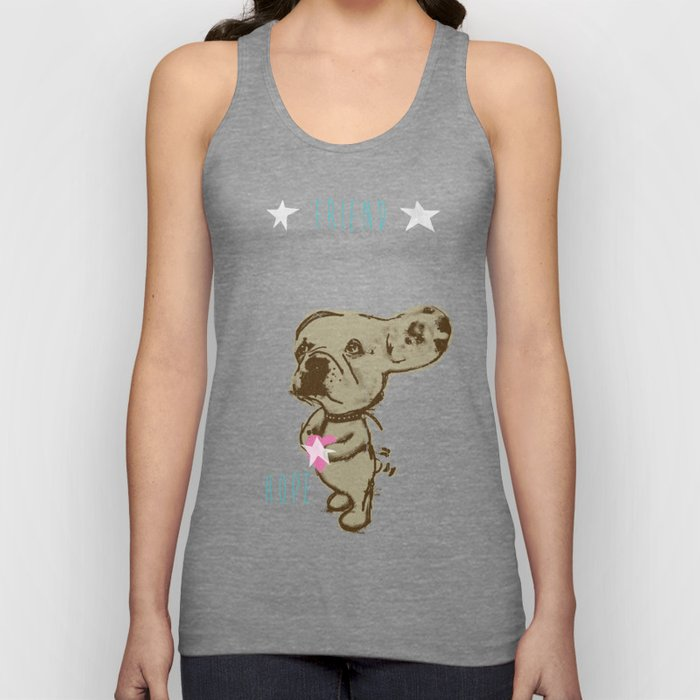 Charley - Friend of Lelu Unisex Tank Top