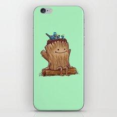 Good Day Log's Bird Nest iPhone & iPod Skin