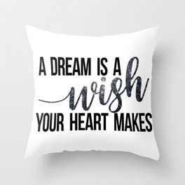 A Starry Dream Throw Pillow