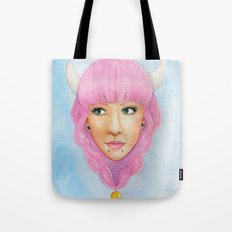 Bubblegum Queen Tote Bag