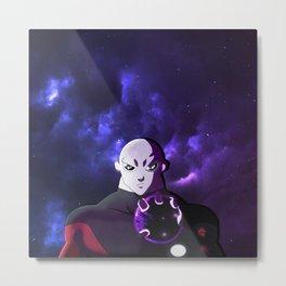 Jiren's Crushed Planet Metal Print