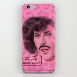 Does your mother know? iPhone Skin