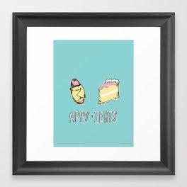 Apps & Zerts Framed Art Print