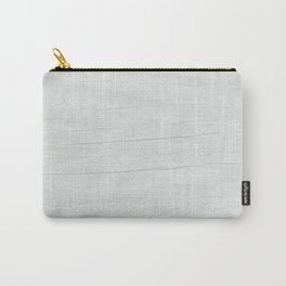 Gray Weathered Wood Carry-All Pouch