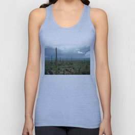 Arizona Desert and Cactuses Unisex Tank Top