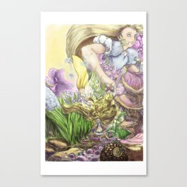 Alice paragraph 94 Canvas Print