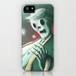 The haunted thoughts iPhone Case