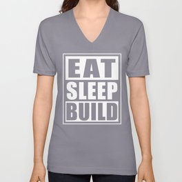 Funny Construction Worker Gift Idea Unisex V-Neck