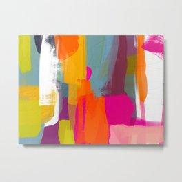 color study abstract art 2 Metal Print
