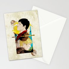 The King and His Sorceror Stationery Cards
