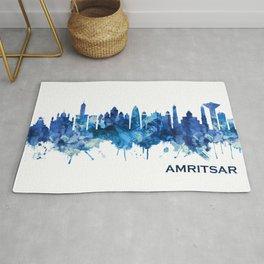 Amritsar Punjab Skyline Blue Rug